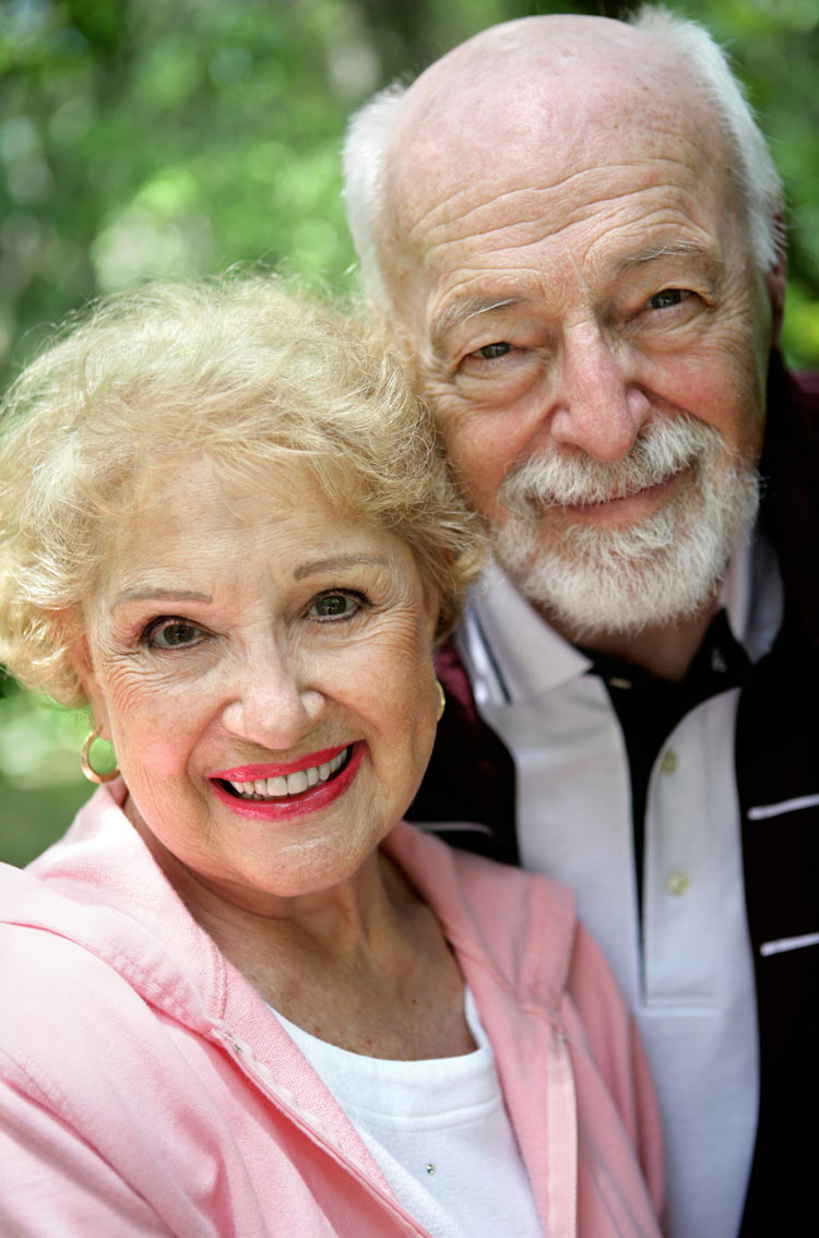 a senior couple